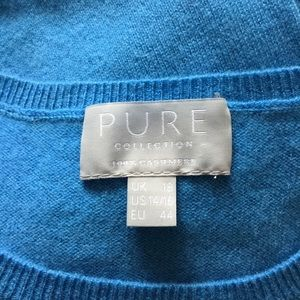 Pure Collection Sweaters - Pure Collection Crew Neck Cashmere Sweater 14/16